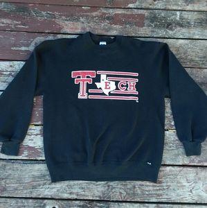 Vintage Texas Tech University Sweatshirt Pullover